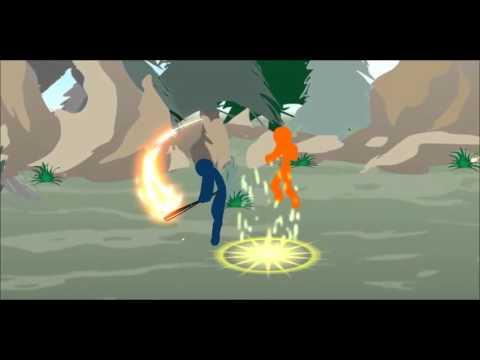 Jax vs Garen phiên bản người que
