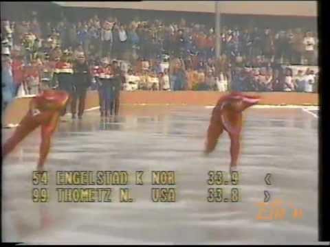 Olympic Winter Games Sarajevo 1984 – 1000 m Engelstad – Thometz