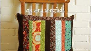 Como Costurar Zíper- Aula 1 .Como Fazer Uma Almofada Em