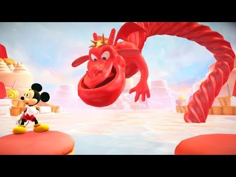 Castle of Illusion Starring Mickey Mouse #04: The Library, A Fase Mais Nostálgica - HD gameplay