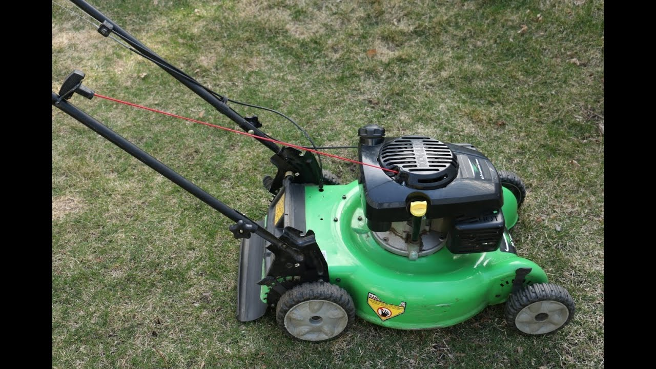 How To Install An Unbreakable Lawn Mower Pull Cord Youtube