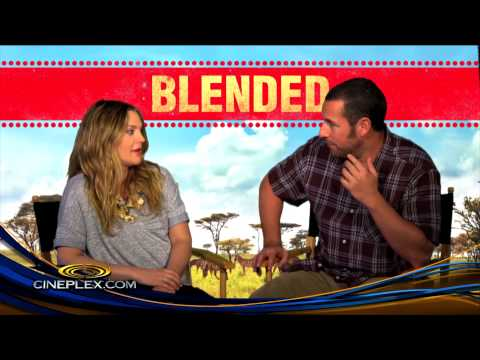 Quizzing Adam Sandler and Drew Barrymore