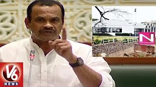 Komatireddy Venkat Reddy Speaks On N Convention Encroachme..