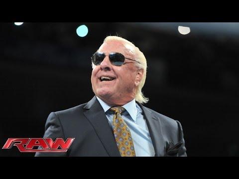 WWE Hall of Famer Ric Flair kicks off Old School Raw: Raw, Jan. 6, 2014