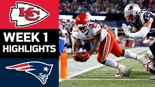 Chiefs vs. Patriots   NFL Week 1 Game Highlights