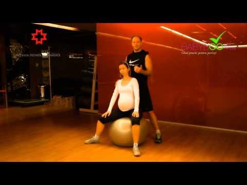 Exercitii - relaxarea perineului pentru femeile insarcinate