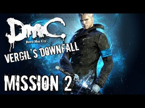 Devil May Cry - Vergil's Downfall - Mission 2 Playthrough TRUE-HD QUALITY