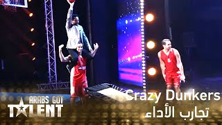 Arabs Got Talent - الجزائر - Crazy Dunkers
