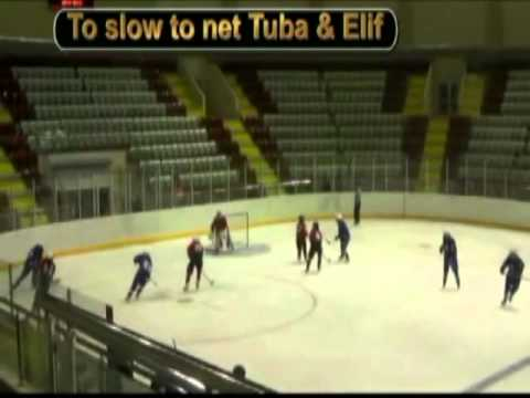 Playing Rules- Clear the Puck to the Corner and Always Pressure on Loose Pucks 2011.mp4
