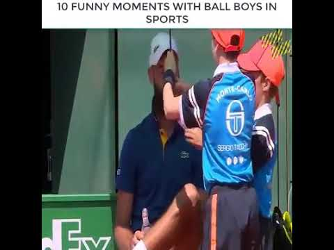 #10 Funny Moment with Ball boys in sports