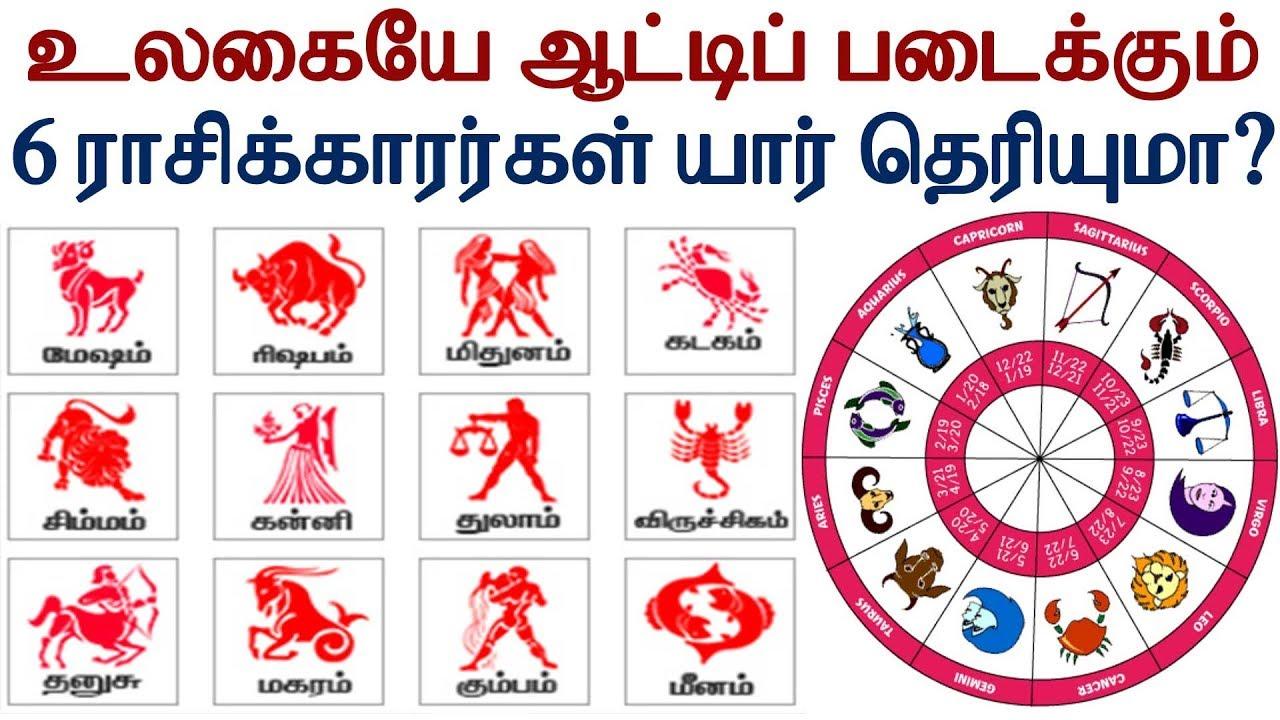 உலகையே ஆட்டிப் படைக்கும் 6 ராசிக்காரர்கள் யார் தெரியுமா?| Tamil Jothidam | Tamil Astrology