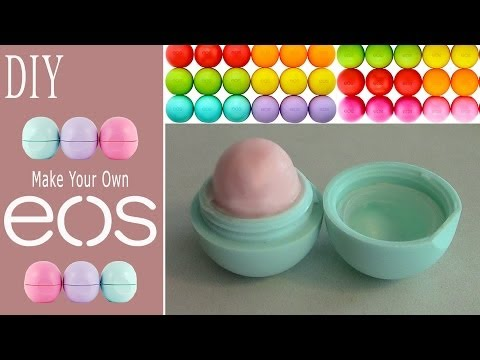 DIY: Make Your Own EOS Lip Balm!