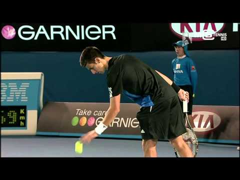 Novak Djokovic Vs Jo Wilfried Tsonga Australian Open 2008