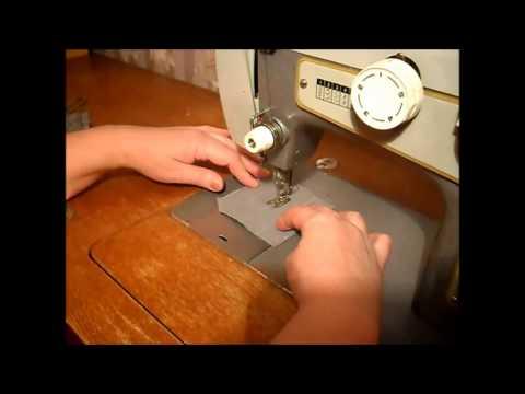 Как шить на машинке чайка 3 197