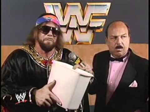 Randy Macho Man Savage interview from the 80's