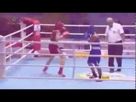 Boxing - Lừu Thị Duyên đã giành HCV: hạng cân 60kg nữ