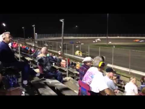 Tri City Speedway Modified Feature Pt 1 6/7/13