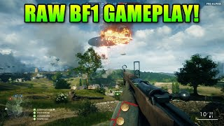 Battlefield 1 - 44 perc Pre-Alpha játékmenet