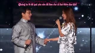 [LIVE] Endless Love Thành Long ft  Kim Hee Sun   The Myth Theme Song  [VIETSUB]