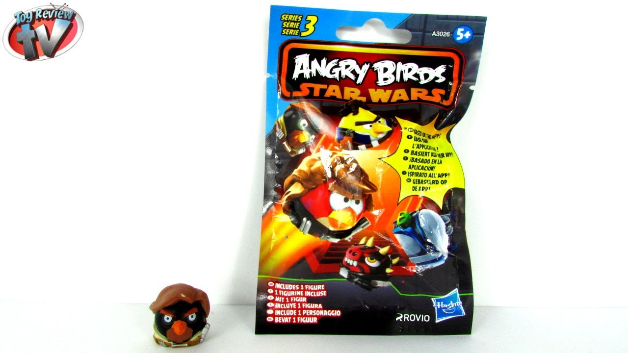 Angry Birds Star Wars Series 3 Mystery Blind Bag Figures ...