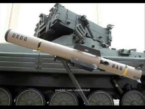 Indian army NAG Anti Tank guided missile test firing from NAMICA