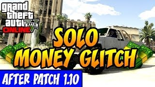 "GTA 5 ""Unlimited Money Glitch After Patch"" *NEW SOLO"
