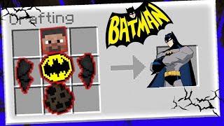 SỰ THẬT VỀ  NGƯỜI DƠI BATMAN !!! (Minecraft phòng thí nghiệm )
