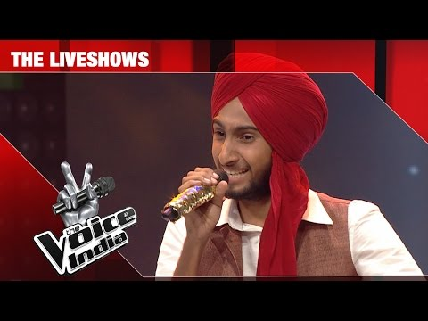 Parakhjeet Singh - Performance - The Liveshows Episode 24 - February 26, 2017 - The Voice India Season2