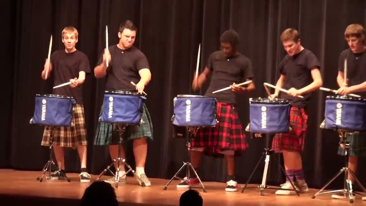 Kalau mereka ibarat boyband.. semua personelnya bisa nyanyi. Drum line selalu jadi elemen penting di marching band tapi kalaupun dipisah mereka tetep menghibur.
