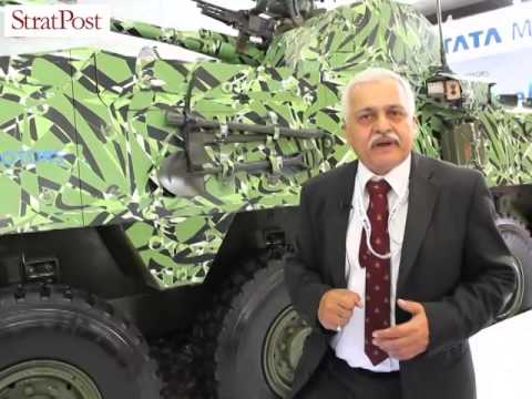 StratPost | Tata Motors' armored vehicles at DefExpo