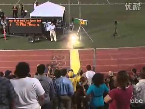 Shaq O'Neal 與 Dwight Howard 驚現田徑場挑戰百米短跑冠軍