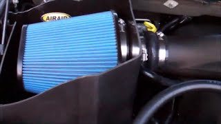 AIRAID COLD AIR INTAKE: 2014 Dodge Ram 1500 5.7 L Hemi V8