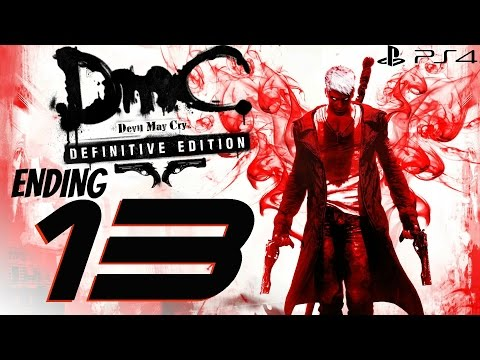 DmC Devil May Cry Definitive Edition - 60fps Walkthrough Part 13 - Final Boss & Ending