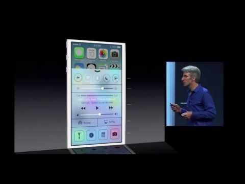 Full iOS 7 Apple WWDC 2013 Keynote