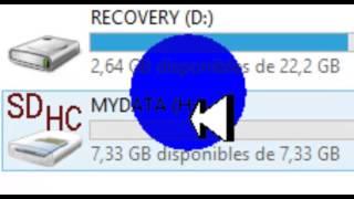 Como Expandir Memorias USB Y Tarjetas SD A 16 GB FACIL