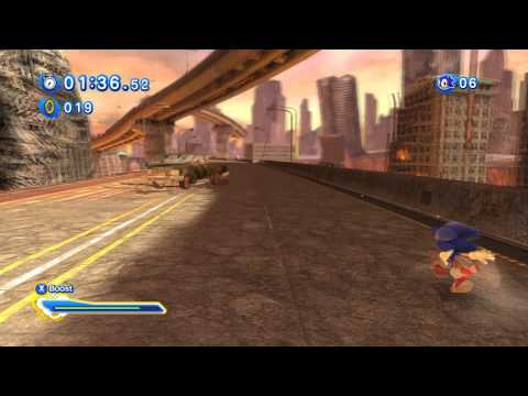 Sonic Generations Silver Boss Fight S Rank