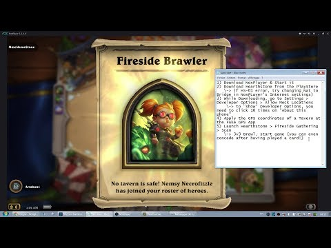 UNLOCK NEW Warlock SKIN FROM HOME using NoxPlayer - Hearthstone Nemsy
