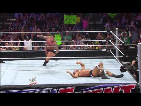 Randy Orton vs. Anrtonio Cesaro: WWE Main Event, May 8, 2013