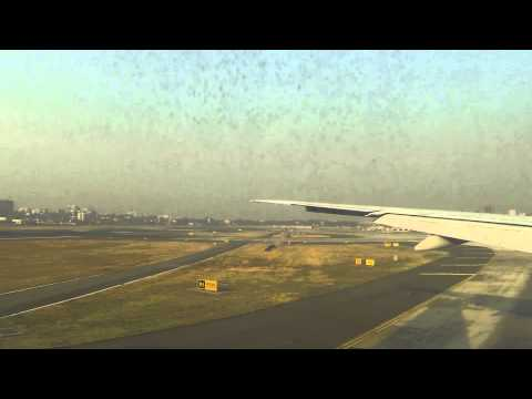 Landing at Chhatrapati Shivaji International Airport, Mumbai, India