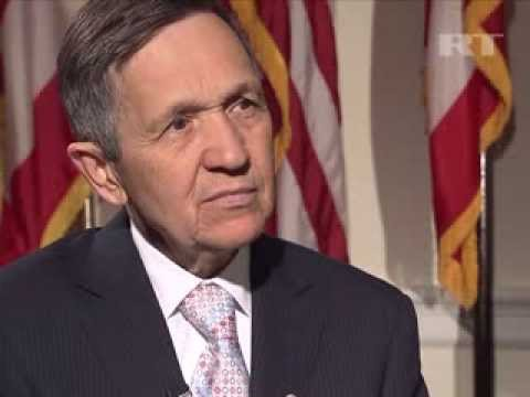 US has to stop thinking in terms of war Congressman Kucinich
