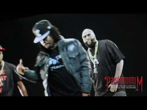 Rick Ross Ft Wale & Meek Mill - Pandemonium (Behind The Scenes)
