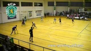 Futsal 04j :: Leões de Porto Salvo - 2 x Sporting - 5 de 2013/2014