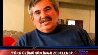Türk Üzümünün İmajı Zedelendi