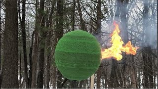 42,000 Match Sphere Gets Lit