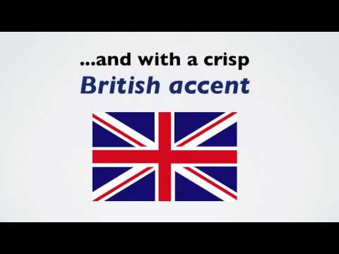 how to speak english in uk accent