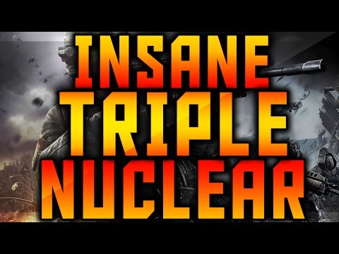 BO2: 111-6 NON LETHALS TRIPLE NUCLEAR! - Alcohol Poisoning! (Triple Nuclear Gameplay)