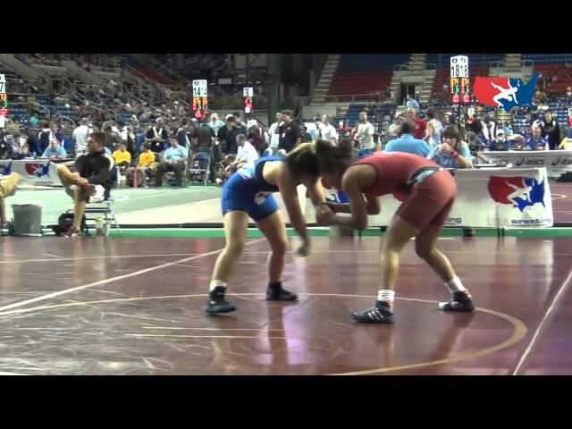 117 - Liang (CA) dec. Lawes (WA), 1-0, 1-0 at Women's Junior National Duals
