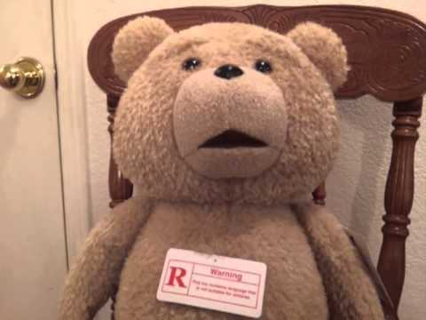 Official Ted plush rated R version