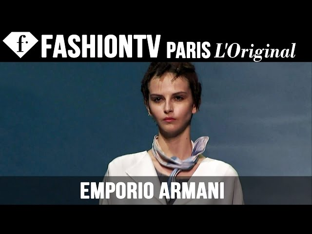 Emporio Armani Spring/Summer 2014 FULL SHOW | Milan Fashion Week MFW | FashionTV