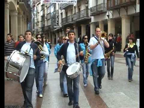 2ª Concentración de Charangas de Soria- Desfile Domingo